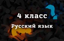 ВПР Русский язык 4 класс 2019 год
