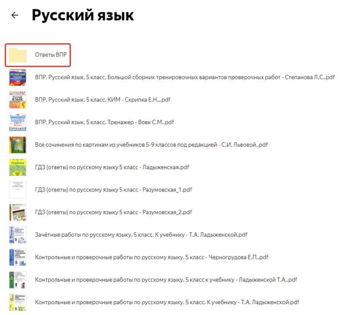 ВПР Русский язык 5 класс