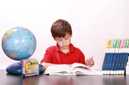 Занятой ученик